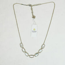 Kendra Scott Grayson Necklace in Ivory Mother of Pearl and Gold Plated