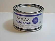 Maas 1.1 Lb Metal Polish Silver Copper Brass Cleaner Anti Tarnish 91404 New Can