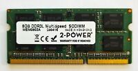 8GB DDR3L 1600MHz Laptop RAM ~ PC3L-12800S SODIMM Memory 1.35v 204pin