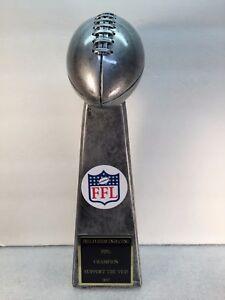 "Fantasy Football Trophy Award Lombardi 13"" FREE Custom Engraving Ship 2 Day Mail"