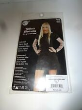 NEW Fabric Tattoo Sleeves Pair Colorful Adult Size Small