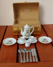 Hummel Goebel Lily of the Valley Dollhouse Miniature Tea Set Maiglockchen