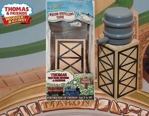 THOMAS & FRIENDS WOODEN RAILWAY ~ WATER REFILLING TANK ~ RARE 1994 UK PACKAGE!