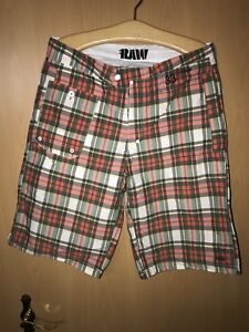 Neu G-Star RAW Badehose Gr XL Swim Short Schwimmhose Bermuda Shorts Bade