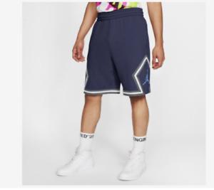 Nike Air Jordan Fleece Diamond Shorts Navy Blue Size XL Extra Large CV7317 414