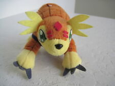"Bandai Digimon ARMADILLOMON 5"" Plush Stuffed Animal"