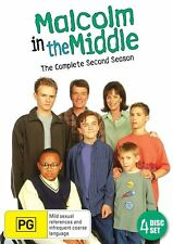 Malcolm In The Middle : Season 2 (DVD, 2013, 4-Disc Set)