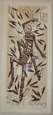 2005 The Raveonettes - Nottingham - Silkscreen Concert Poster by Guy Burwell
