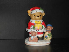 Flambro Santa Bear Christmas Figure New From Bronner's Christmas Wonderland
