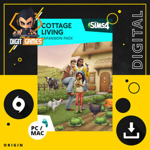 The Sims 4 Cottage Living Expansion Pack - Origin Key / PC & Mac Game Download