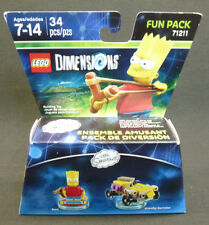 New LEGO Dimensions Bart Simpson Fun Pack MiniFigure 71211 PlayStation Xbox WiiU
