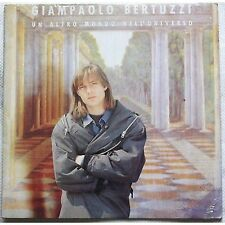GIAMPAOLO BERTUZZI - Un altro mondo LP VINYL 1992 NEAR MINT CONDITION PUNZONATO