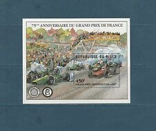 Niger  bloc  grand prix de France  automobile 1981  num:  36  **