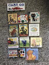 Lot of 12 Board Books for Children Kids Babies Preschool Daycare Excellent