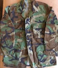 US MILITARY ARMY CAMO CAMOUFLAGE JACKET USED Size Small Regular