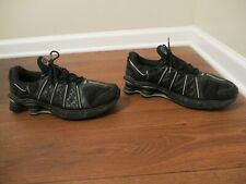 Classic 2005 Used Worn Size 13 Nike Shox Cognescenti Cog Shoes Black Silver Gray