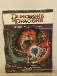 DUNGEON MASTER'S GUIDE d&d Dungeons & Dragons 4E RPG 4th edition DM core rules