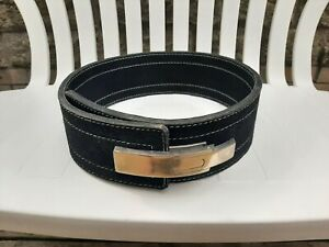 Black Inzer Style Forever Lever 10mm Belt
