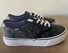 VANS CAMDEN PLATFORM PALM LEAF WOMENS TRAINERS SIZE UK5.5, EU38.5, NEW
