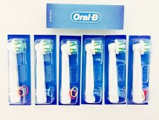 6 x Brand New Sealed Genuine Oral-B Floss Action Replacement Brush Heads