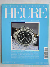 HEURE magazine N° 30 / ROBERGE/ Jaeger-Lecoutre:Day Date Reverso / Lange & Söhne