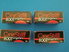 Four (4) Rolls CineStill 800T 120 Film EXP. 08/2022 NO RESERVE