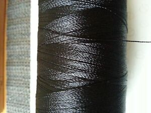 100mtrs. Whipping Thread Extra Strong Nylon  BLACK