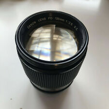 CANON FD 135mm f2.5 S.C. Lens 'GOOD USED'