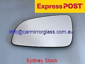 LEFT PASSENGER SIDE HOLDEN ASTRA AH 2005-2010 MIRROR GLASS WITH BACK PLATE
