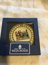 Wedgwood Ted's Train Christmas Ornament Edition #1 The Engineer Locomotive