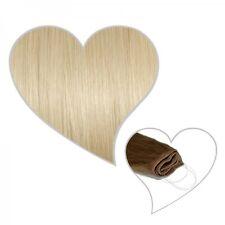 Easy Flip Extensions in platinblond#60 50 cm 110 Gramm Echthaar Your Hair Secret