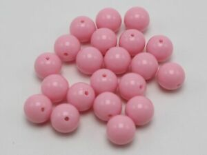 """100 Bubblegum Color Acrylic Round Beads 12mm(1/2"""") Smooth Ball Color for Choice"""