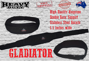 GLADIATOR High Quality BodyBuilding Weight Lifting Fitness Neoprene Gym Belt