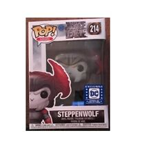 FUNKO POP Steppenwolf DC Legion of Collectors Justice League EXCLUSIVE #214 NMIB
