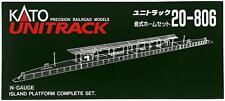 Kato N Scale  20-806 Unitrack Island Platform Complete Set