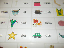 R-Controlled Vowel Picture and Word Laminated Flashcards. KDG-2nd Grade ELA