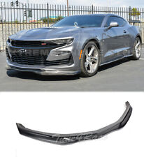 For 19-Up Chevrolet Camaro SS T6 Style Front Bumper Lip Splitter Primer Black