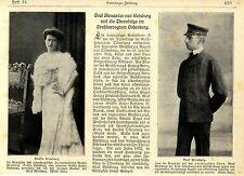 Graf Alexander v.Welsburg & Gräfin Hahn-Basedow (Klage Thronfolge Oldenburg)1905