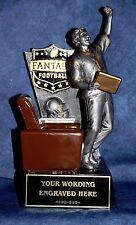 Fantasy Football 12 Yr Perpetual Trophy with Black Base. Free Engraving!