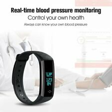 Smart Bracelet Band Heart Rate Blood Pressure Fitness Watch for iOS Android