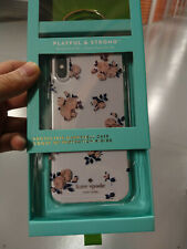 New Kate Spade Comold Protective Case iPhone X XS Pink Botanical KSIPH-076-HRPNC