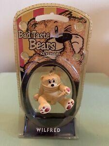 Bad Taste Bears - Wilfred Keyring. Keychain. Rare