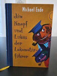 Jim Knopf und Lukas der Lokomotivführer von Michael Ende - Kinderbuch gebunden