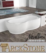 ARCKSTONE Vasca Bagno Angolare DX Casa Novellini Venus Standard Telaio 180x80 cm