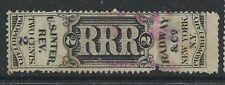 RS 193d--RADWAY 2 CENT PRIVATE DIE  MEDICINE STAMP--49