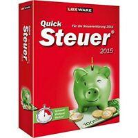 PC - QuickSteuer 2015 [Lexware] NEU & OVP