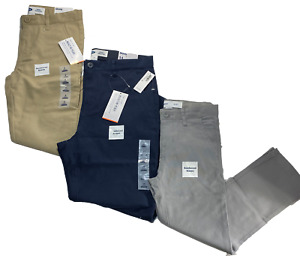 Boys Old Navy Skinny Uniform Pants - Navy, Khaki, or Grey - MSRP $25 NWT