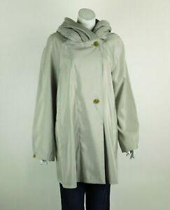 Mycra Pac Mini Donatella Raincoat Mineral/Zink Reversible Pleated Hood Small New