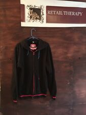 DC BMX Navy And Red Hoodie Jacket L