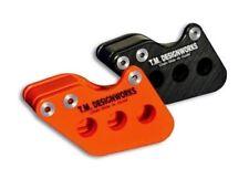 T.M. Designworks Orange Factory Edition 1 Chain Guide for KTM 85 SX (19/16) 2013